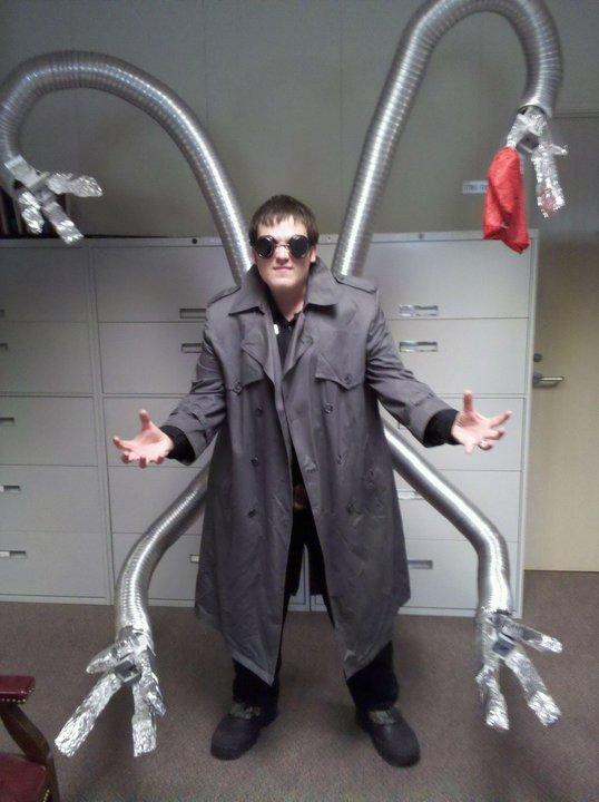 Cool Homemade Doc Ock Costume Belchspeak