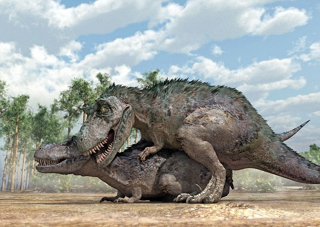 Scientists Show How Dinosaurs Had Sex.