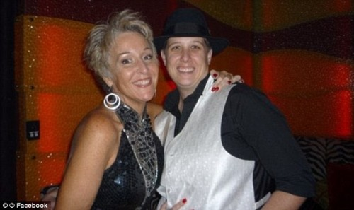 "Dallas Augustine, right, ragequits her lesbian relationship after she cheats on her ""wife"""